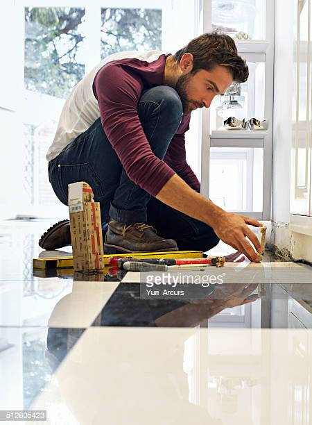 His DIY skills will floor you