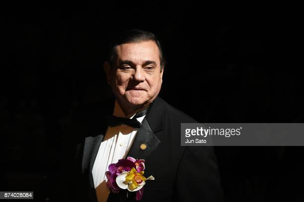 His Excellency Mr Saul Arana Castellon of the Republic of Nicaragua Embassy in Japan attends the Miss International Beauty Pageant 2017 at the Tokyo...