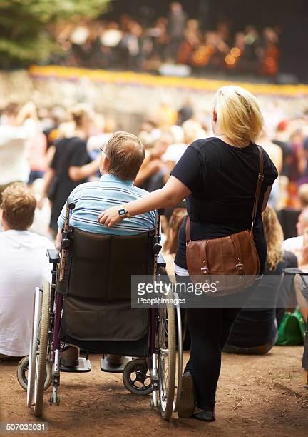 Le handicap n'est pas de l'arrêter de profiter de la vie !