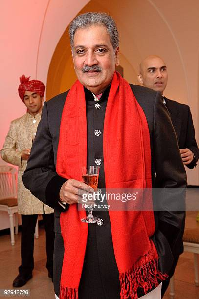 His Highness Maharaja Gaj Singh II of MarwarJodhpur attends the Royal Rajasthan charity Gala on November 9 2009 in London England