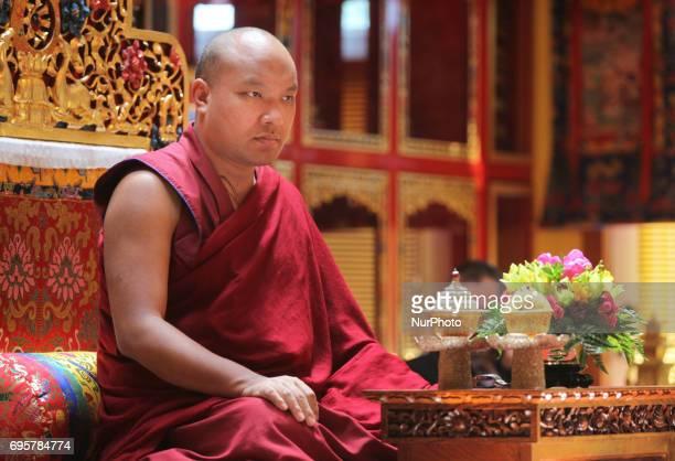 His Holiness the 17th Gyalwang Karmapa Ogyen Trinley Dorje visited the Karma Tekchen Zabsal Ling Toronto Thrangu Centre to cut the ribbon and bless...