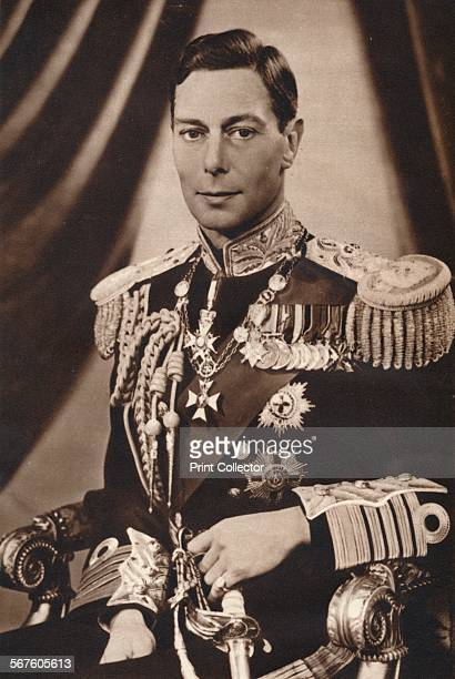 'His Majesty King George VI' c1936 King George VI King of the United Kingdom and the Dominions of the British Commonwealth from 11th December 1936...