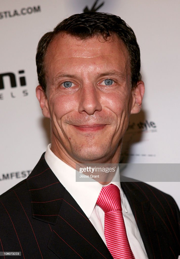 His Royal Highness Prince Joachim of Denmark during His Royal Highness Prince Joachim of Denmark Visits The Danish Film Festival at Aero Theatre in Santa Monica, California, United States.
