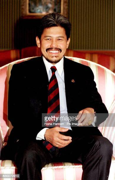 His Royal Highness Prince Mohamed Bolkiah second brother to the Sultan of Brunei and Minister Of Foreign Affairs during an interview today with the...