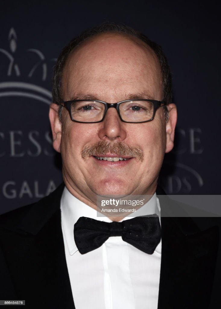 His Serene Highness Prince Albert II of Monaco arrives at the 2017 Princess Grace Awards Gala at The Beverly Hilton Hotel on October 25, 2017 in Beverly Hills, California.