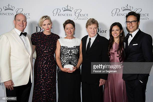 His Serene Highness Prince Albert II of Monaco Her Serene Highness Princess Charlene of Monaco 2015 Princess Grace Awards Gala Honorees Sibylle...