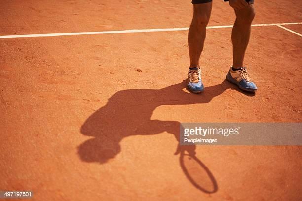 Son ombre est un chapitre permanent du terrain