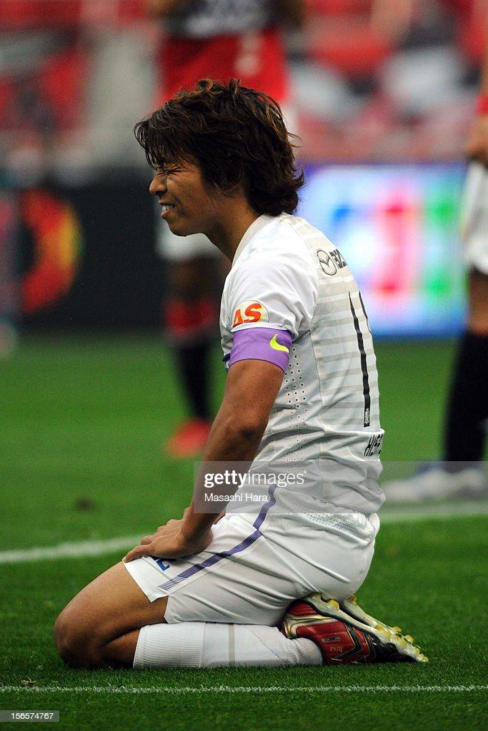 Urawa Red Diamonds v Sanfrecce Hiroshima - 2012 J.League