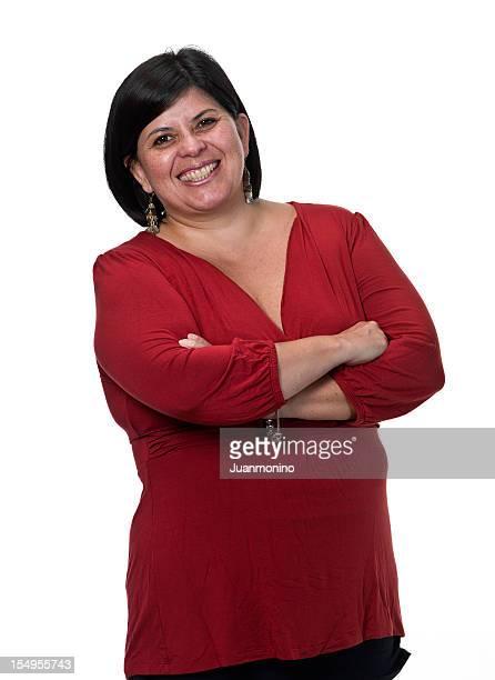 Hispanic business Frau