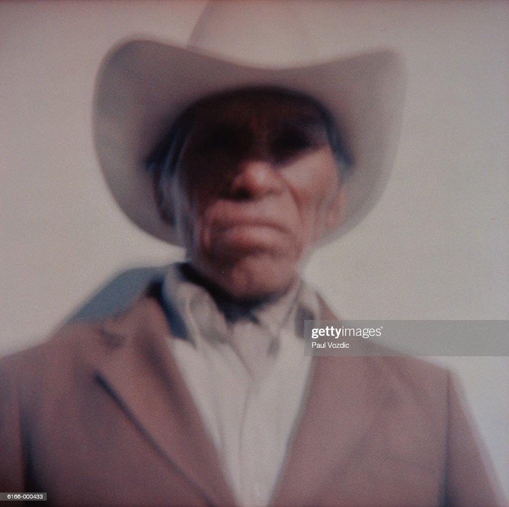 Hispanic Cowboy : Stock Photo