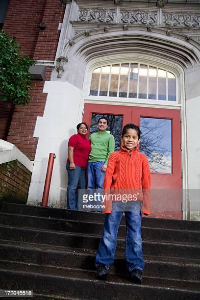 Des Portraits de famille hispanique