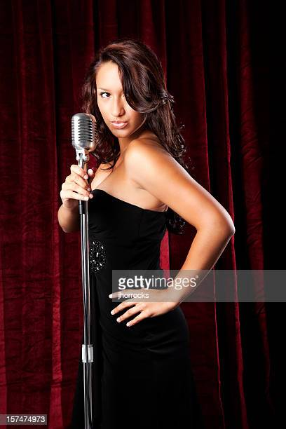Hispanic weibliche Singer