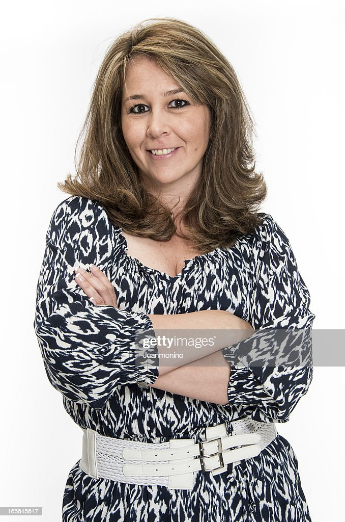 Hispanic mature woman