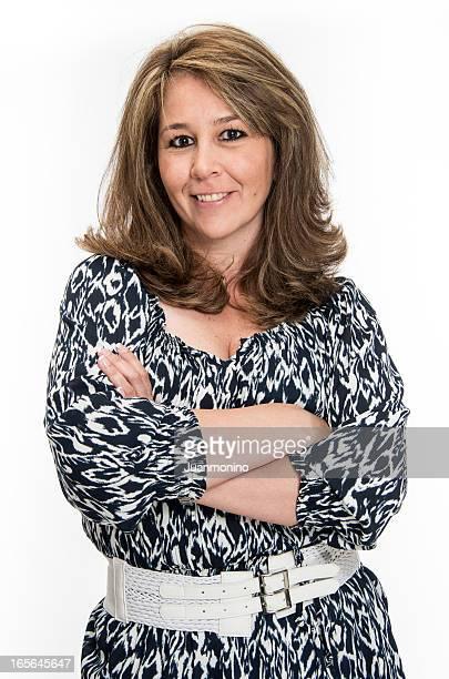 Hispanic mature woman