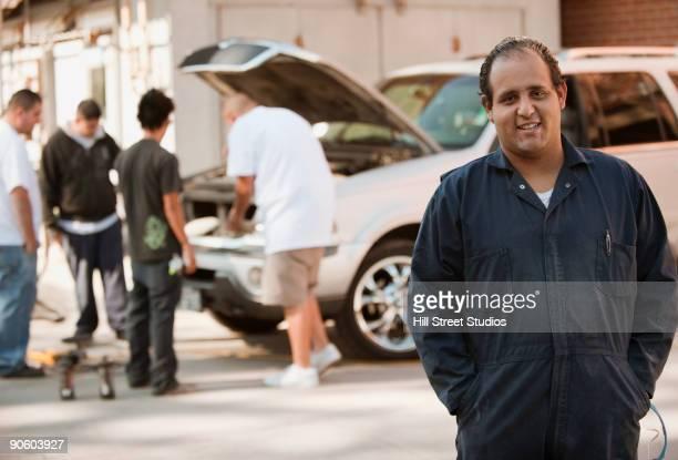 Hispanic mechanic