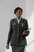 Hispanic nurse in the US army