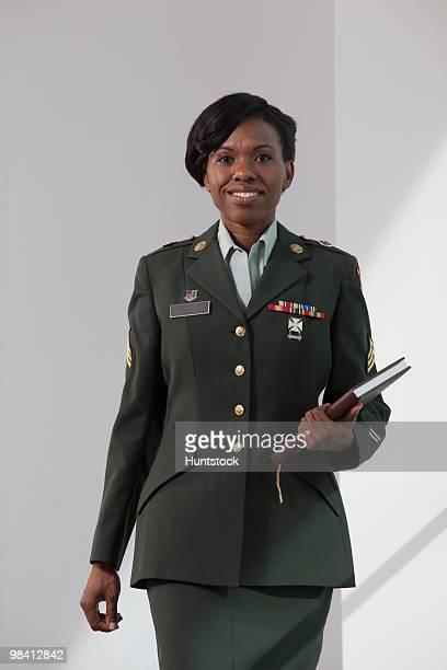 Hispanic nurse in the US army