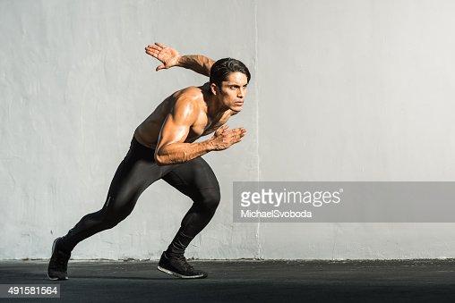 Hispanic Runner