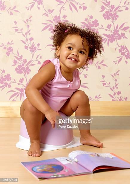 Hispanic toddler potty training