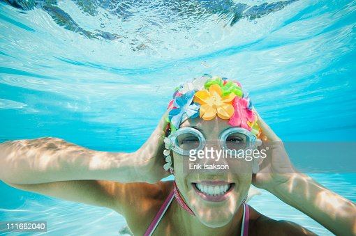 Vintage Swim Cap Stock Photos And Pictures Getty Images