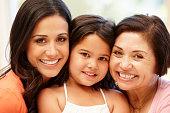 Hispanic women 3 generations