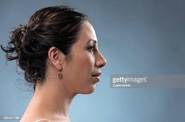 Hispanische junge Frau