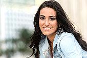 Hispanic Young Woman