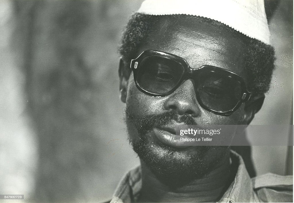 Hissène Habré in N'Djamena in Chad during the Hissène Habré coup d'etat, Chad, 4th June 1982.