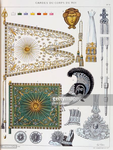 Gardes du corps de roi insignia artist eugene titeux for Origine du mot maison