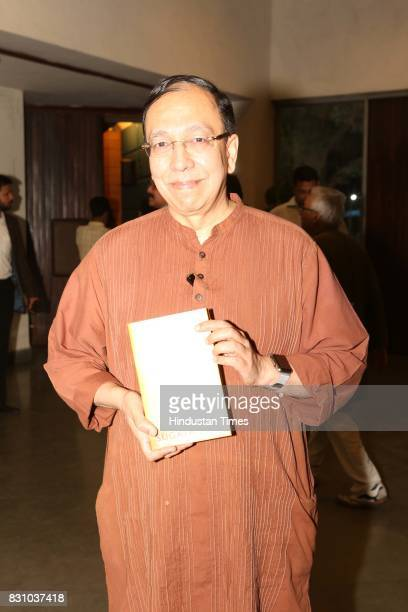 Historian and politico Sugata Bose during the launch of his book 'The Nation as Mother And Other Visions of Nationhood' at Teen Murti Auditorium on...