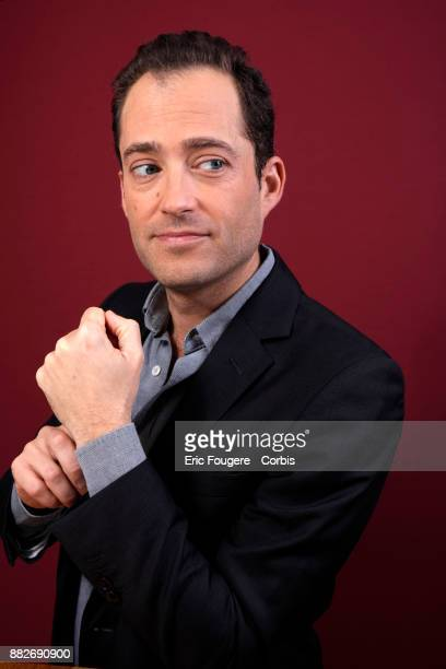Historian Laurent Decaux son of Alain Decaux poses during a portrait session in Paris France on