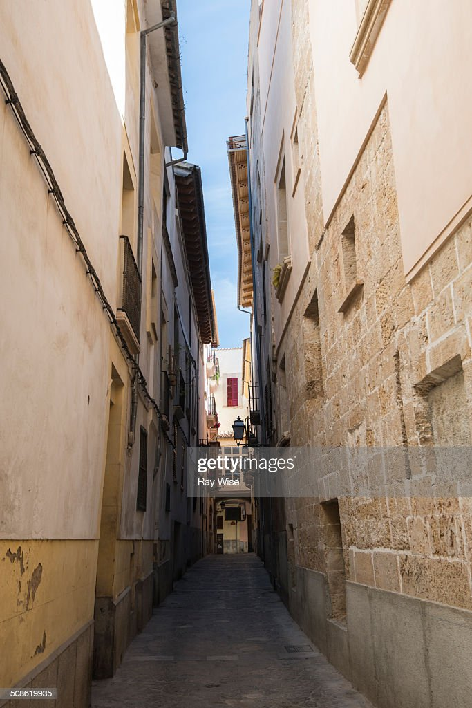 Historic alleyway