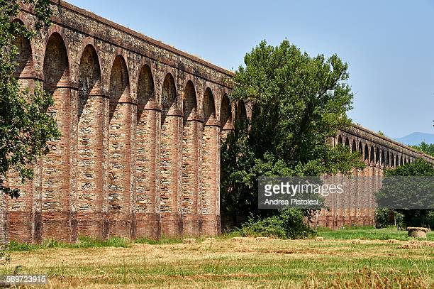 Historic aqueduct, Lucca, Tuscany, Italy