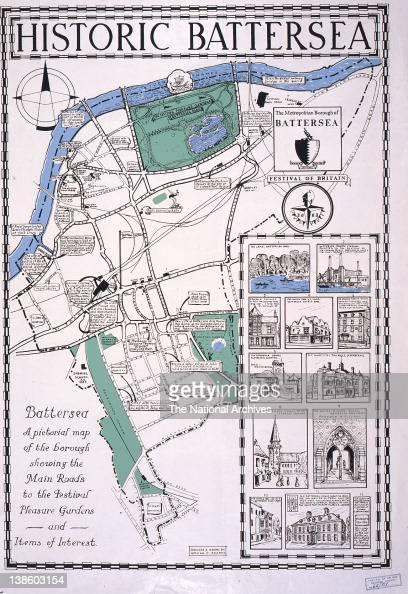 Historic Battersea 1951