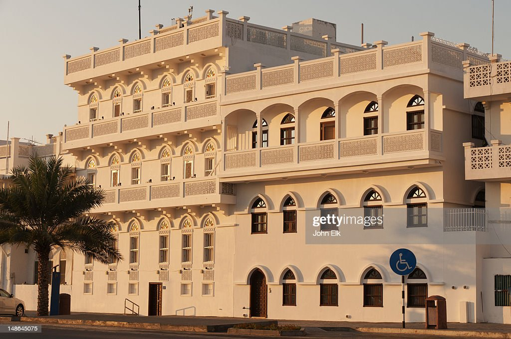 historic building facades on the corniche stock photo getty images. Black Bedroom Furniture Sets. Home Design Ideas