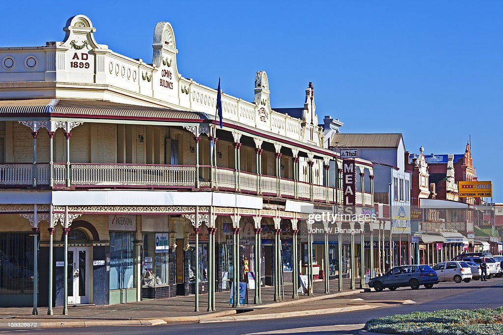 Historic buildings , Kalgoorlie,W.A.