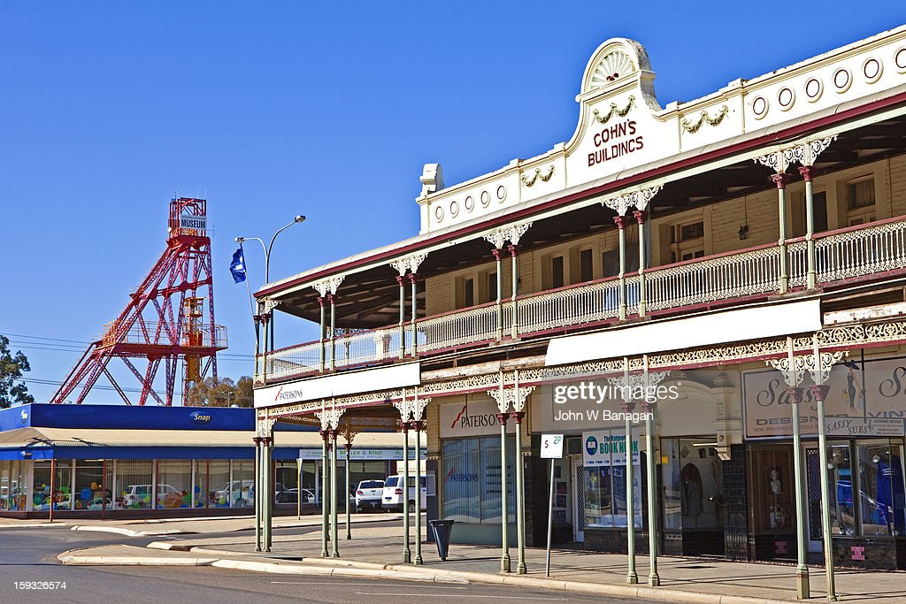 Historic buildings, Kalgoorlie,W.A.