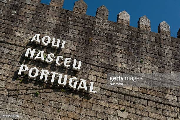 Historic center of Guimaraes Portugal on April 16 declared World Heritage Site by Unesco in 2011