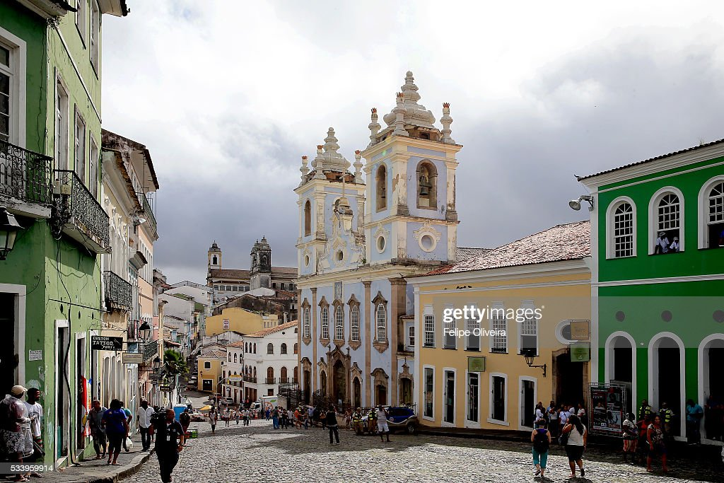 Historic Center, Pelourinho, on May 24, 2016 in Salvador, Brazil.