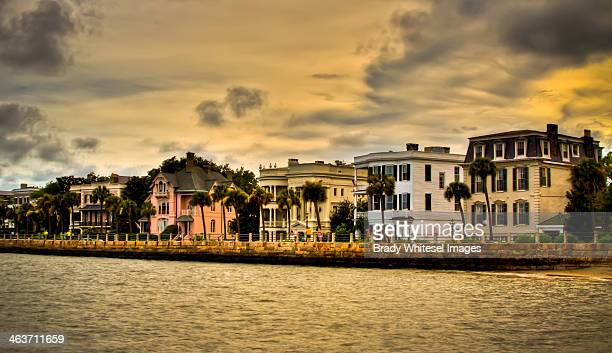 Historic Charleston - Battery at Sunset