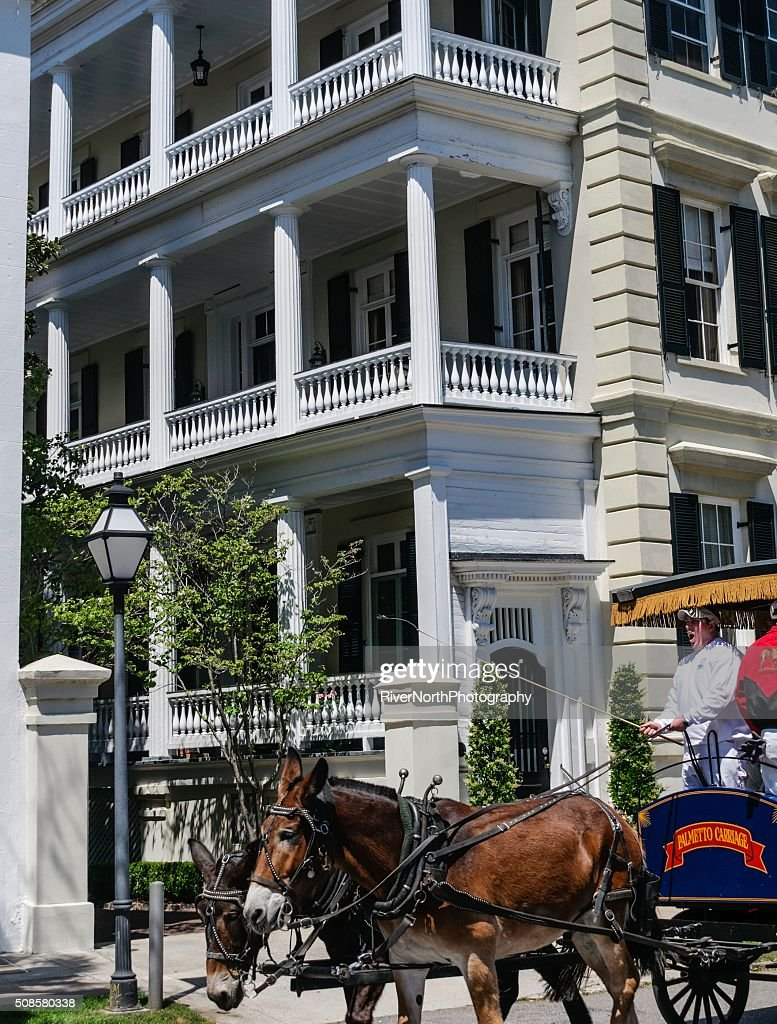 Historische Charleston, South Carolina : Stock-Foto
