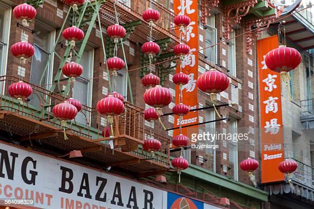 Historic Chinatown in San Francisco California