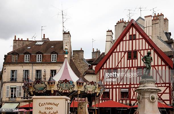 Place Ville historique de Dijon, en France