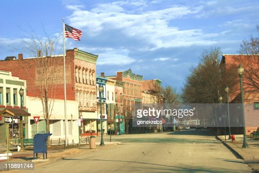 Historic District, East Coast Town