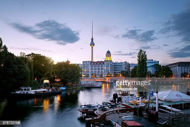 Historic harbour Berlin