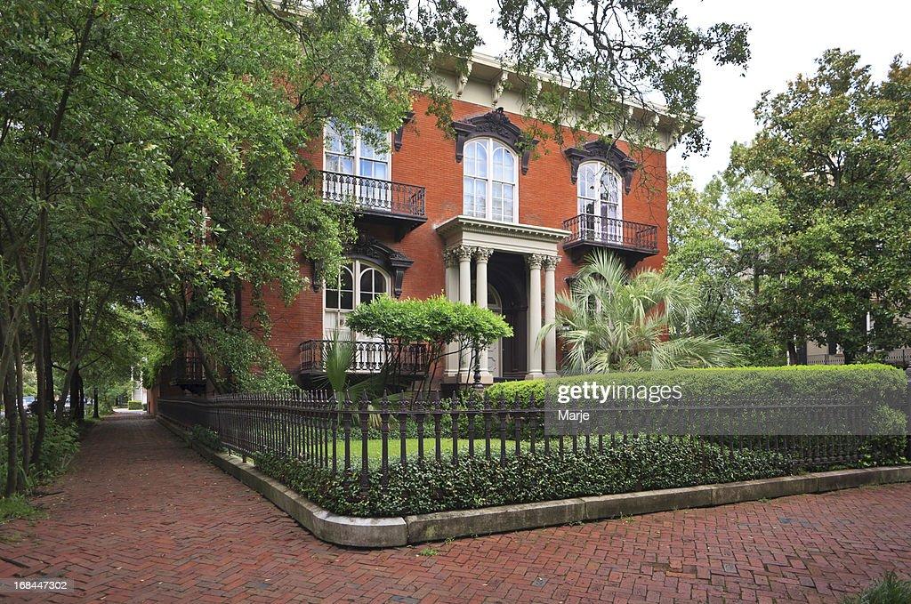Historic Home: Savannah, Georgia