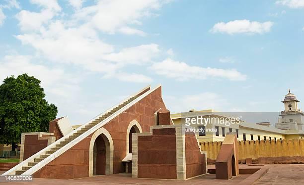 Historic observatory, Jantar Mantar, Jaipur, Rajasthan, India