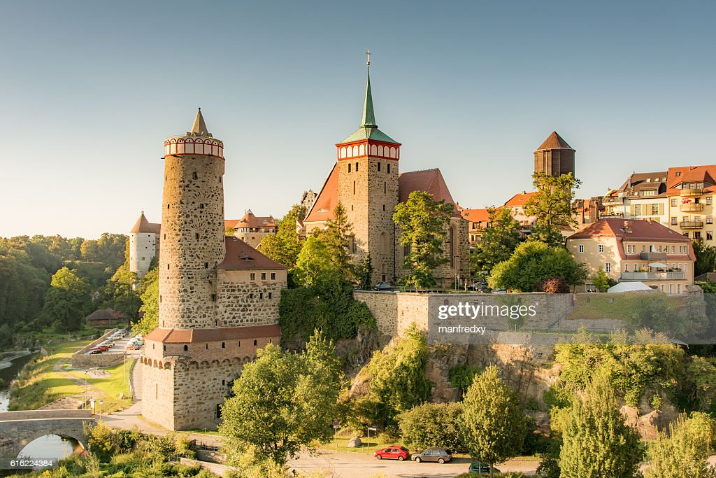 Historic old town of Bautzen : Stock Photo