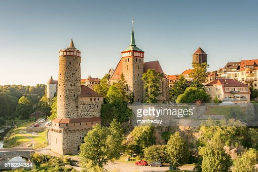Historic old town of Bautzen : Foto stock