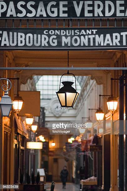 Historique de Passage Couverts, à Paris